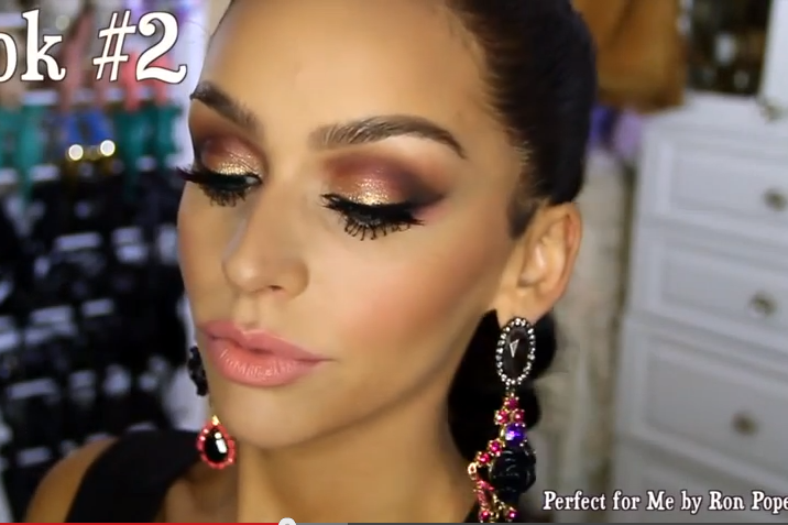 Fall Makeup Inspired By Carli Bybel Leather Lipsticks